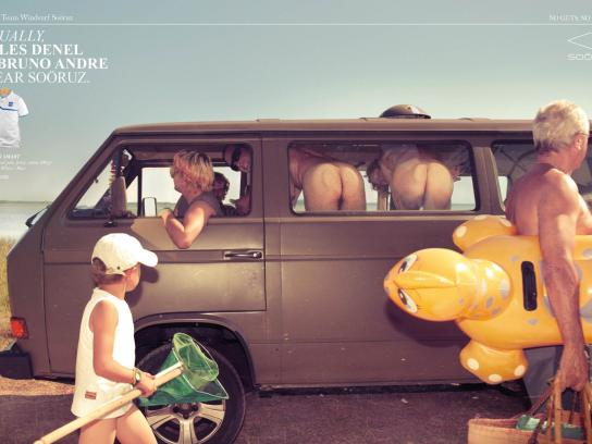 Sooruz Print Ad -  Jules Denel & Bruno Andre