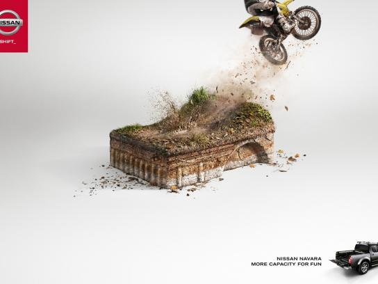 Nissan Print Ad -  Motorbike