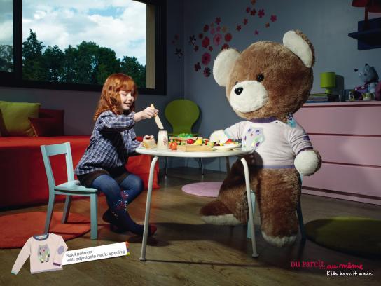 DP...am Print Ad -  Teddy bear