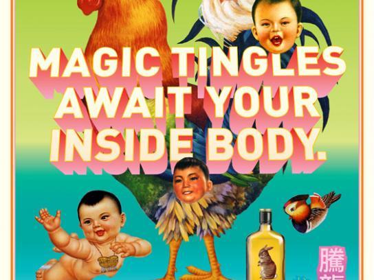 Dragon Noodle Co. Print Ad -  Magic tingles