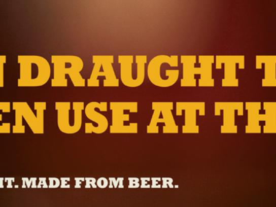 Carlton Outdoor Ad -  The Draught Tap