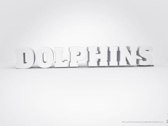 Dreams Print Ad -  Dolphins