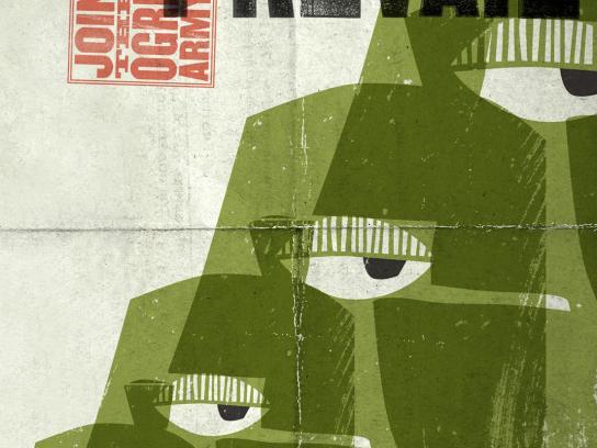 Shrek Print Ad -  Truth