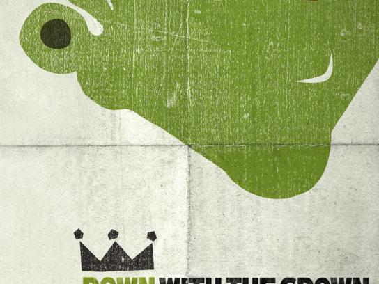Shrek Print Ad -  Crown