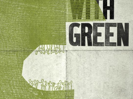 Shrek Print Ad -  Greed