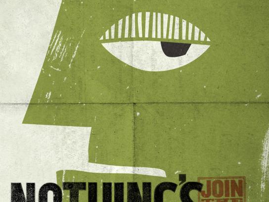 Shrek Print Ad -  Nothing
