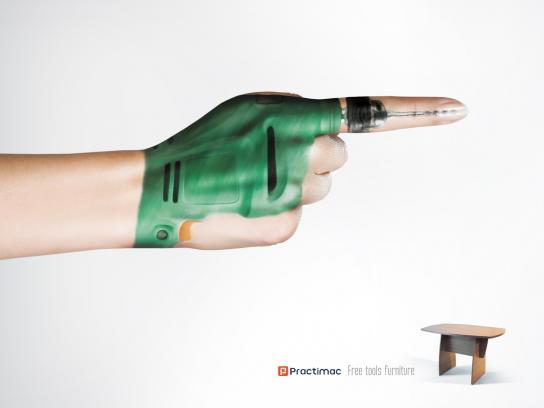 Practimac Print Ad -  Drill