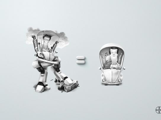 Aspirin Print Ad -  Driver