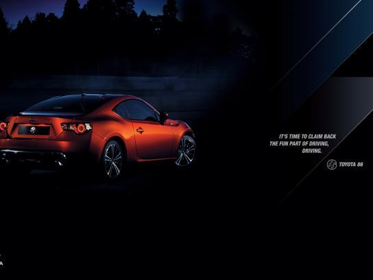 Toyota Print Ad -  Driving