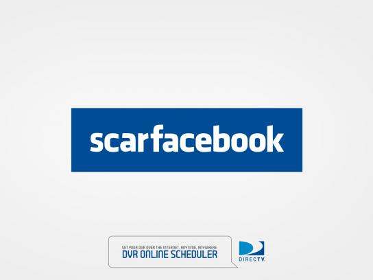 DIRECTV Print Ad -  Scarfacebook