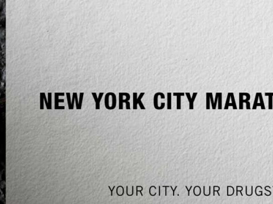 Duane Reade Print Ad -  New York City Marathon
