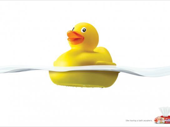 Huggies Print Ad -  Duck