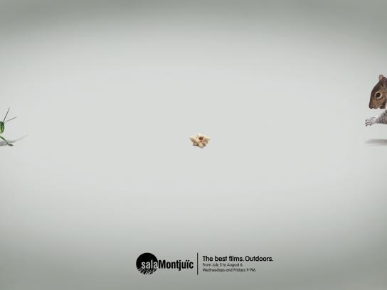 Sala Montjuïc Print Ad -  Popcorn