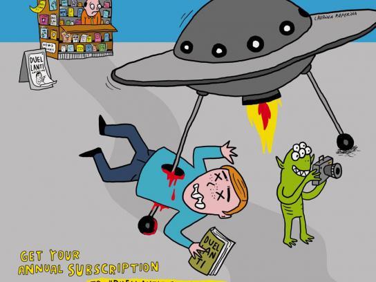 Duellanti Print Ad -  UFO