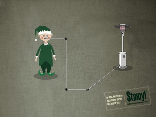 Stamyl Print Ad -  Duende