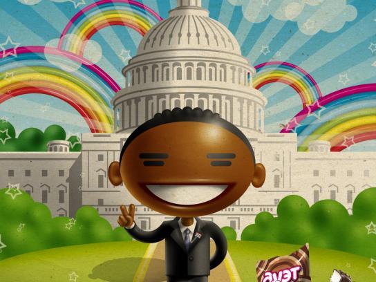 Duet Print Ad -  Obama