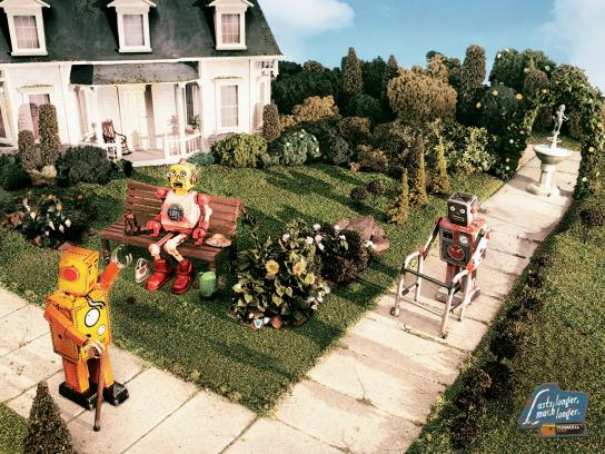 Duracell Print Ad -  Garden