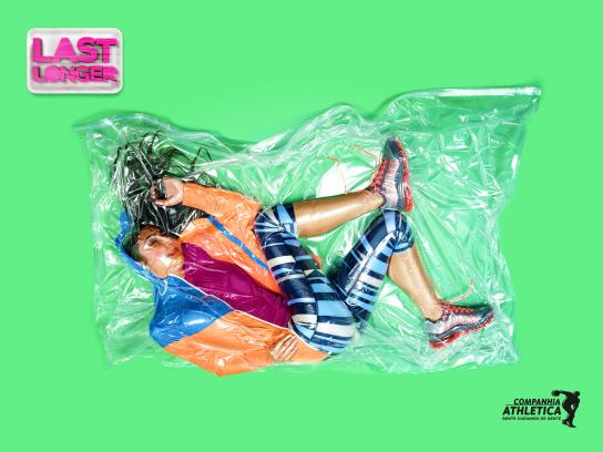 Companhia Athletica Print Ad -  Last Longer, Lorena