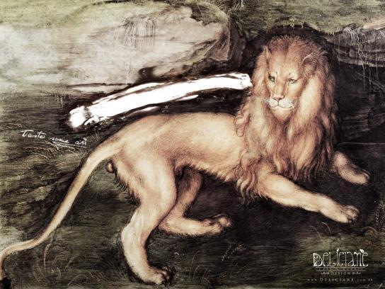 Deliciane Print Ad -  Lion, 1521