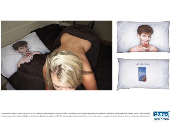 Durex Ambient Ad -  Blonde
