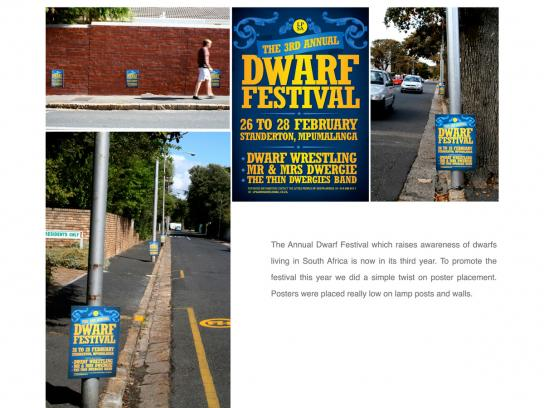 Dwarf Festival Outdoor Ad -  Posters