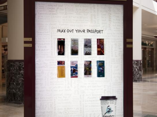 Caribou Coffee Outdoor Ad -  Brochures