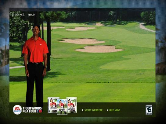 EA Games Digital Ad -  Tiger Woods PGA Tour Virtual Par 5