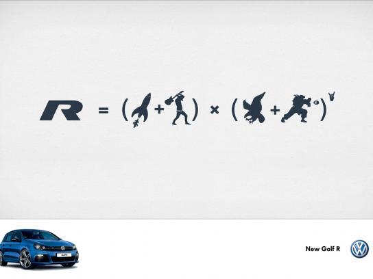 Volkswagen Print Ad -  Eagle x Rock