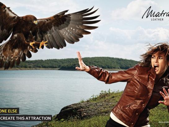 Matraş Print Ad -  Eagle