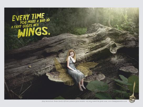 Eagle Print Awards Print Ad -  Fairy
