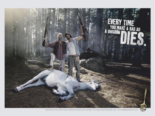 Eagle Print Awards Print Ad -  Unicorn