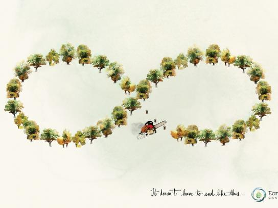 Earth Day Print Ad -  Tree