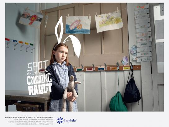 Easyhaler Print Ad -  Bunny