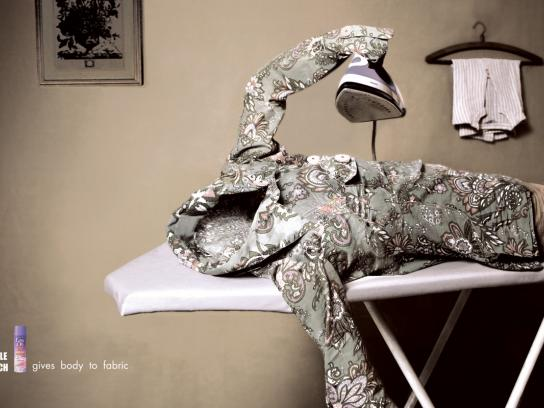 Easy On Print Ad -  Ironing board