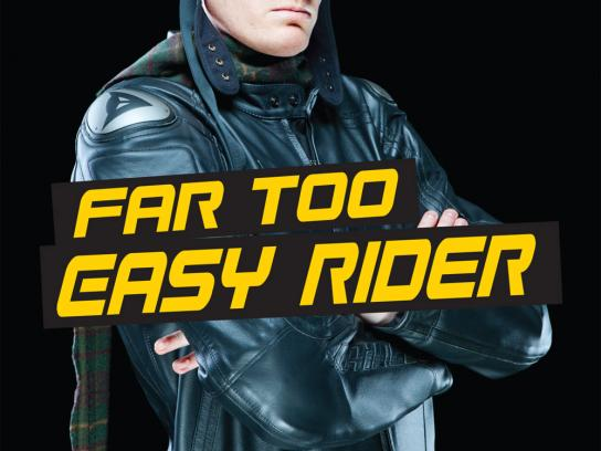 MasterCard Outdoor Ad -  Easy Rider
