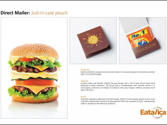 Eatalica Direct Ad -  Just in case