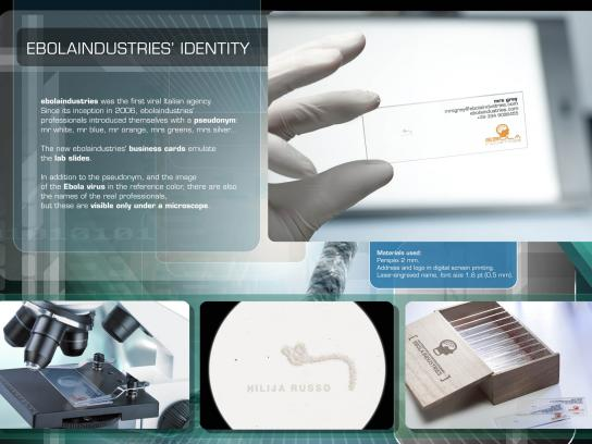Ebolaindustries Direct Ad -  Business card