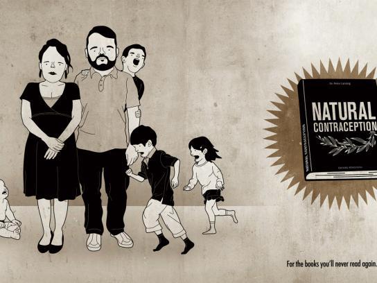 Librairie L'Échange Print Ad -  Natural contraception