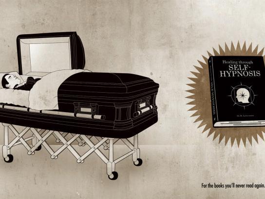 Librairie L'Échange Print Ad -  Self-Hypnosis