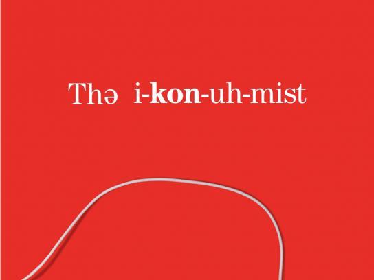 Audible Print Ad -  The Economist