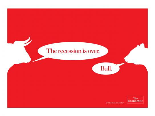 The Economist Print Ad -  Bull
