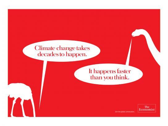 The Economist Print Ad -  Ostrich