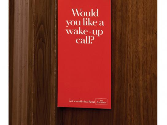 The Economist Direct Ad -  Door hanger