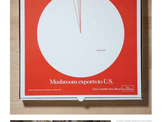 The Economist Direct Ad -  Mushroom