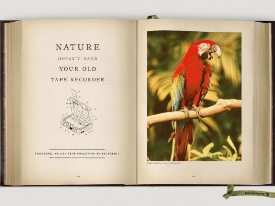 Eco-Systèmes Print Ad -  Parrot