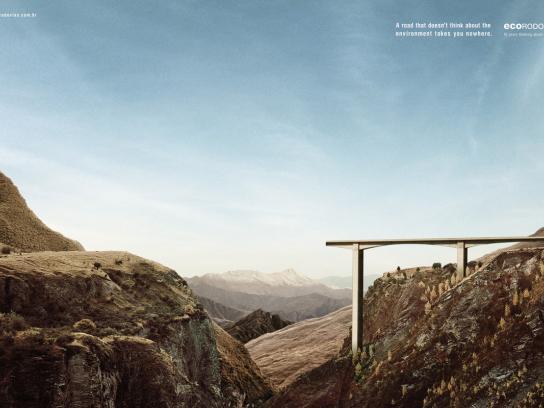 Ecorodovias Print Ad -  Viaduct