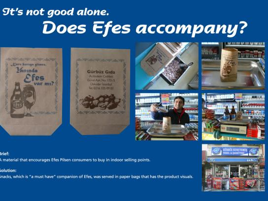 Efes Direct Ad -  Snacks