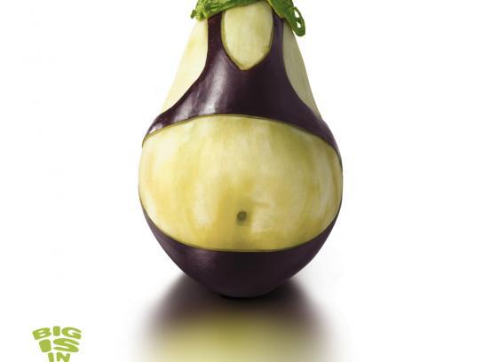 Magimix Print Ad -  Eggplant