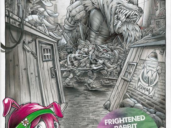 egoFM Print Ad -  Frightened Rabbit
