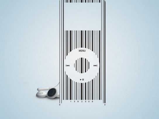 Egyptair Print Ad -  iPod